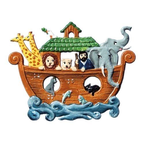 Pendant of pewter, Noah's Ark - Wilhelm Schweizer -