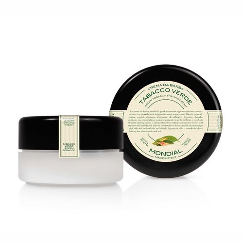 Antica Barberia Mondial - Green tobacco - Luxury shaving cream, 150ml