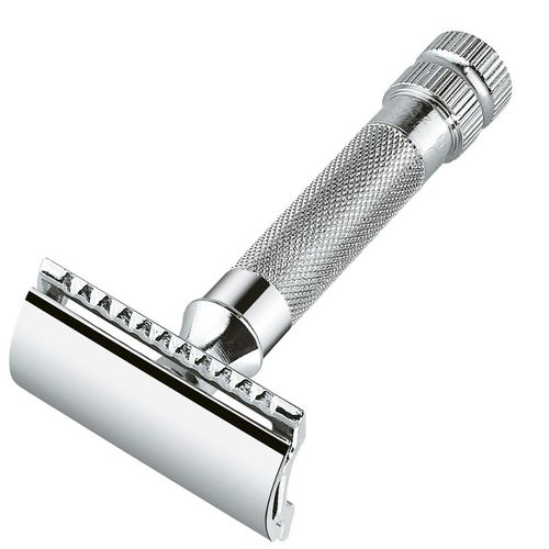 MERKUR Solingen - Safety razor, chromed, closed comb, 9034001 – image 1