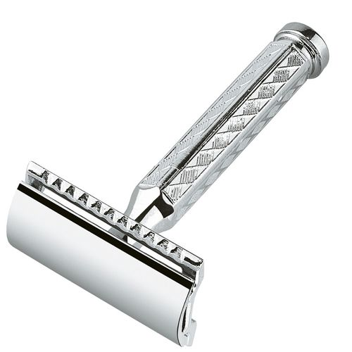 MERKUR Solingen - Safety razor, chromed, closed comb, 9042001