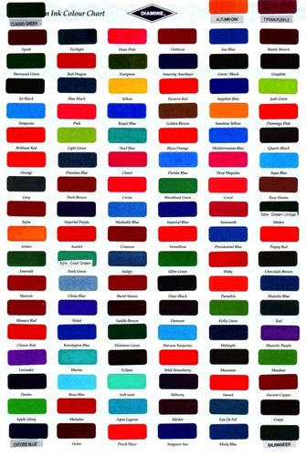Diamine - Standard Ink Cartridges, Bilberry 6 cartridges – image 2