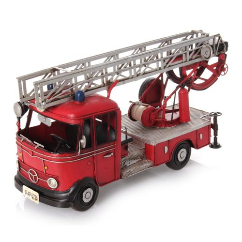 Metal Car Model - Fire Engine German 1960 – image 2