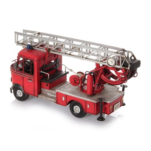 Metal Car Model - Fire Engine German 1960 – image 3