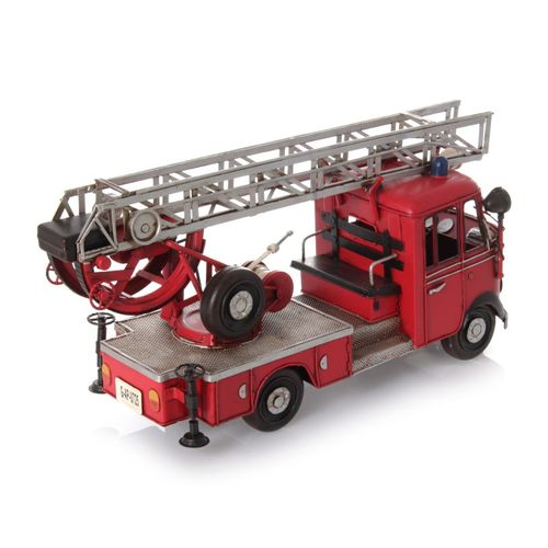 Metal Car Model - Fire Engine German 1960 – image 4