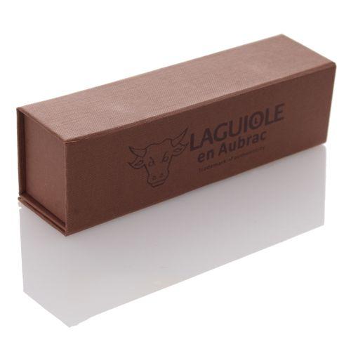 Laguiole en Aubrac Taschenmesser, Trappeur, Olivenholz, L0514TOLI – Bild 2