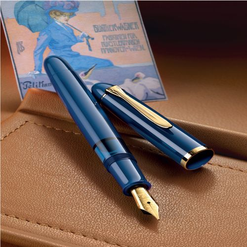 Pelikan Special Edition - Classic M120 Iconic Blue M (Medium) – Bild 2