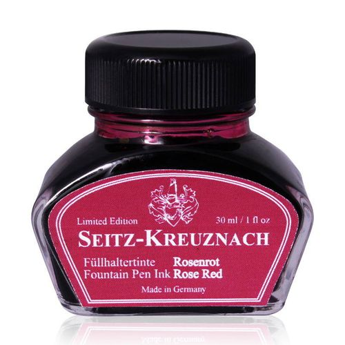 Seitz-Kreuznach Fountain pen ink Rose Red, 1 fl oz – image 1