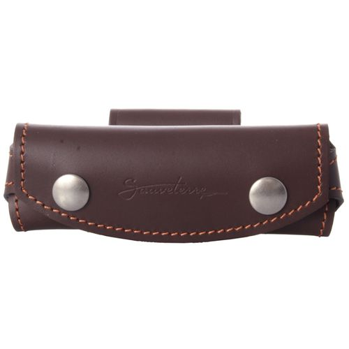Max Capdebarthes Belt case SAUVETERRE, choco