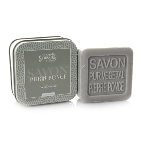 La Savonnerie de Nyons - Soap in Metal Tin Pierre Ponce, 100 g