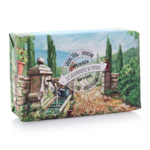 La Savonnerie de Nyons - Soap in Paper, Verbena Soap - 200 g