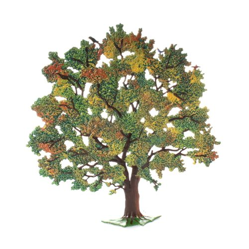 Made of Pewter, Chestnut Tree/Autumn 20 cm - Wilhelm Schweizer -