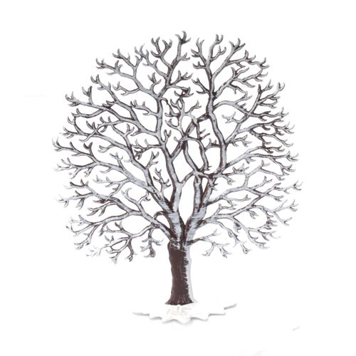 Made of Pewter, Winter Chestnut 12 x 10 cm - Wilhelm Schweizer -