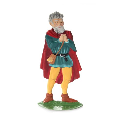 Made of Pewter, Dwarf 2 (Snow White) 5 cm - Wilhelm Schweizer - – image 1