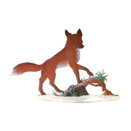 Made of Pewter, Fox Daddy Winter 9 x 9 cm - Wilhelm Schweizer - – image 2
