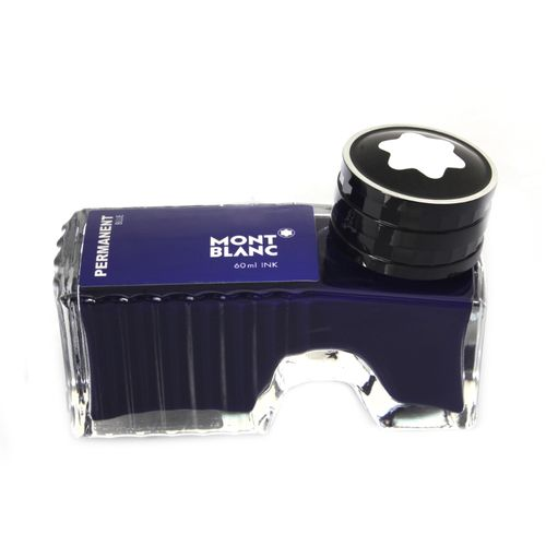 Montblanc - Fountain Pen Ink, Permanent Blue 60 ml