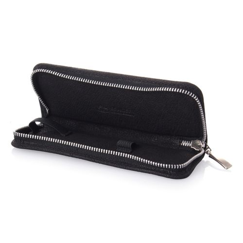 Razor Case, Leather, Black, Erbe Solingen – image 1