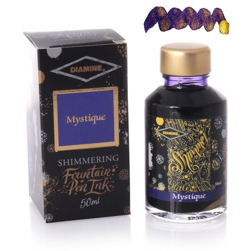 Diamine - Shimmering Fountain Pen Ink, Mystique 50ml