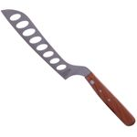 "Windmillknife Cheese Knife ""Long hole"", cherry wood, stainless"