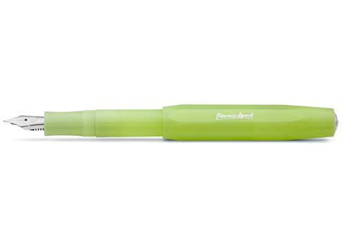 Kaweco Sport FROSTED Fountainpen Fine Lime M (medium) – image 1