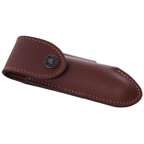 Max Capdebarthes Pocket knife sheath, Laguiole Trad. 13 cm, Choco – image 1