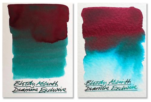 Diamine - Fountain Pen Ink, Bloody Absinth 80ml / limited edition – image 3