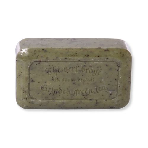 Savon de Marseille - Thé Vert Broyée (Gemahlener Grüner Tee), 125 g, Handgemacht
