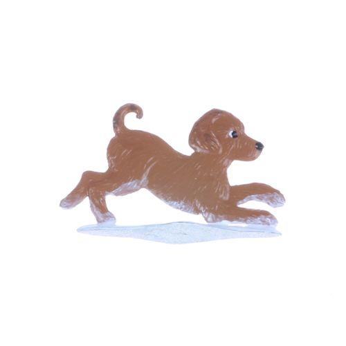 Wilhelm Schweizer - Dog puppy 2 made of tin alloy – image 2