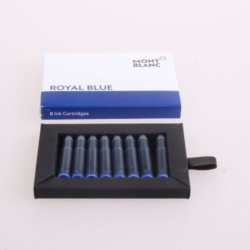Montblanc - Ink Cartridges Royal Blue, 8 per package – image 1