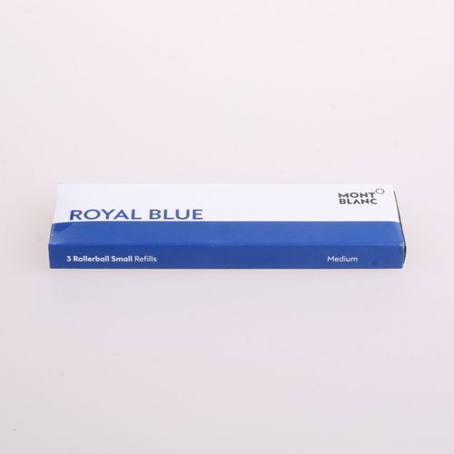 Montblanc - 3 Rollerball Refill Small Royal Blue M (Medium) – image 2