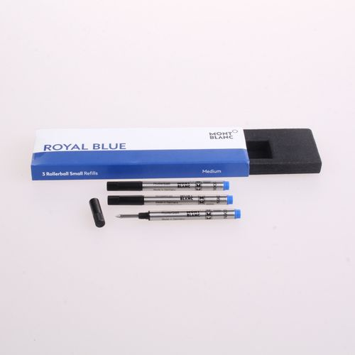 Montblanc - 3 Rollerball Refill Small Royal Blue M (Medium) – image 1