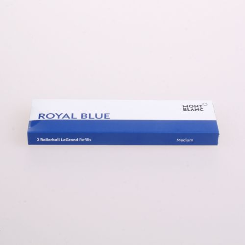 Montblanc LeGRAND pack of 2 Rollerball Refills Pacific Blue M (medium) – image 2