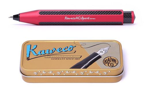 Kaweco AC Sport push pencil red (Limited Edition) – image 1