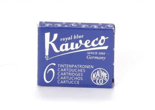 Kaweco Fountain Pen ink cartridge short royal blue - pack of 6 – image 1