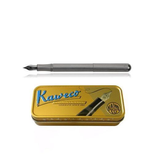 Kaweco Liliput fountain pen Stainless Steel Nib: F – image 1