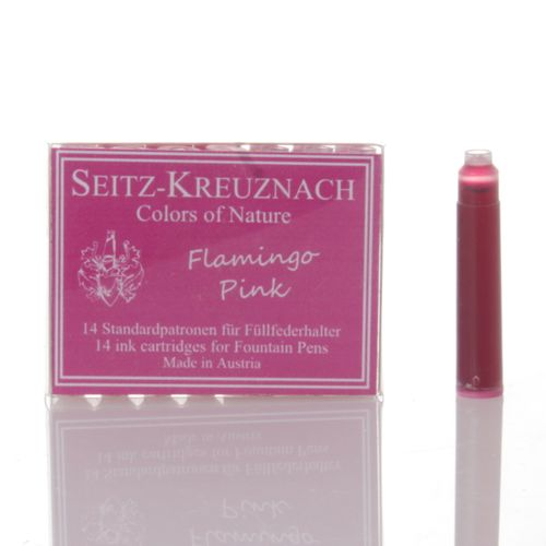Seitz-Kreuznach Ink Cartridges Flamingo Pink, Pack of 14, Colors of Nature