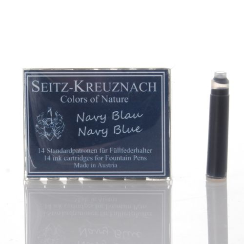 Seitz-Kreuznach Ink Cartridges Navy Blue, Pack of 14, Colors of Nature