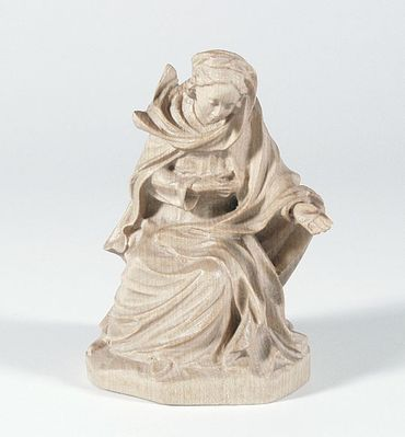 Krippenfigur Maria 14 cm Mesner-Krippe Holzfigur