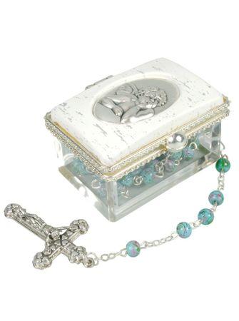 Rosenkranz Geschenkset Angelo zur Erstkommunion