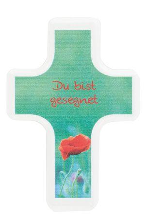 Handschmeichler Du bist gesegnet 6 cm Kreuz