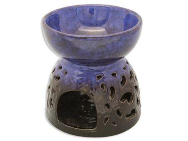 Verdunster Keramik blau marmoriert 14,5 cm