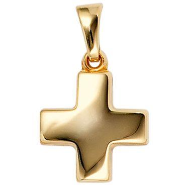 Anhänger Kreuz 333 Gelbgold Goldkreuz