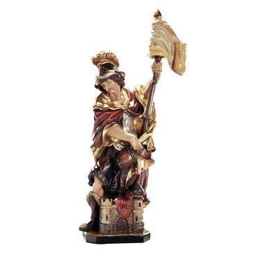Heiliger Florian Holzfigur geschnitzt Südtirol