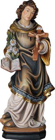Heiliger Aloisius Gonzaga Holzfigur geschnitzt