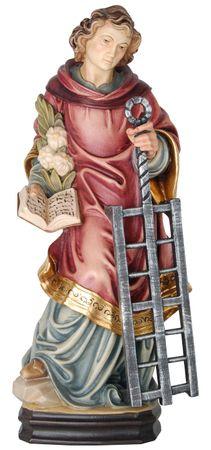Heiliger Laurentius Holzfigur geschnitzt Südtirol