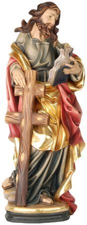 Heiliger Philippus Holzfigur geschnitzt Südtirol