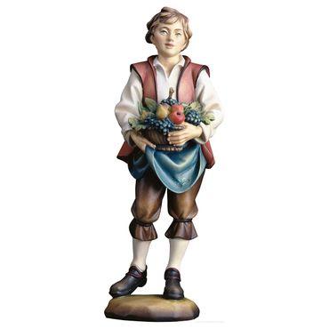 Obstmann Holzfigur geschnitzt Südtirol