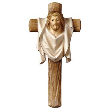 Passionskreuz Holzkreuz geschnitzt Kruzifix