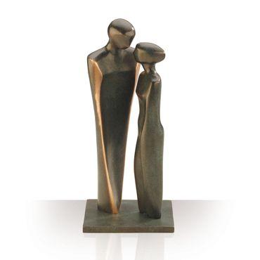 Bronzefiguren Verliebtes Paar 22 cm Skulptur