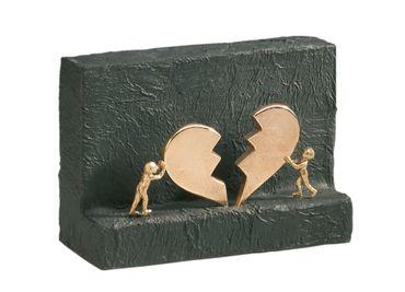 Bronzefigur Neuanfang 14 x 20 cm Bronzeskulptur