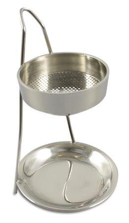 Weihrauch Räuchergefäß mit Teelicht Nickel 11 cm